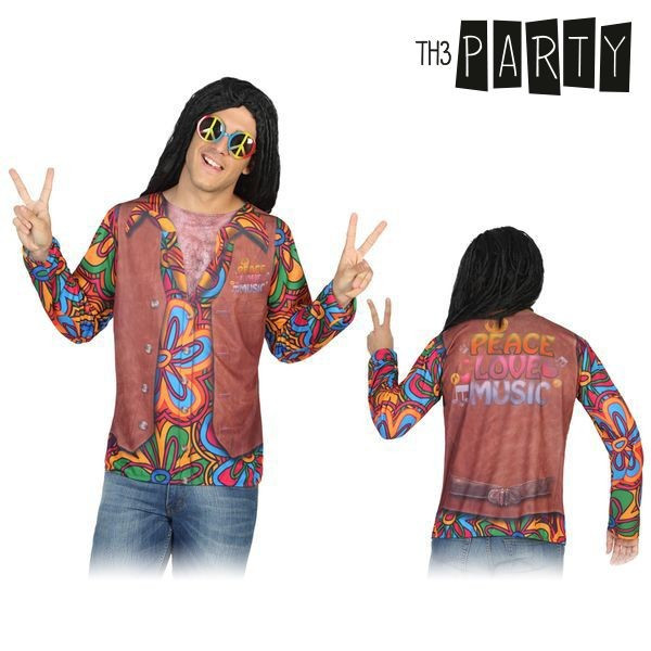 Tricou pentru adulți Th3 Party 6634 Hippie foto mare