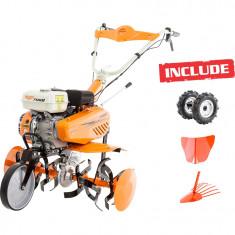 Motosapa Ruris 7088 +roti cauciuc+rarita+disp cartofi - Motocultor