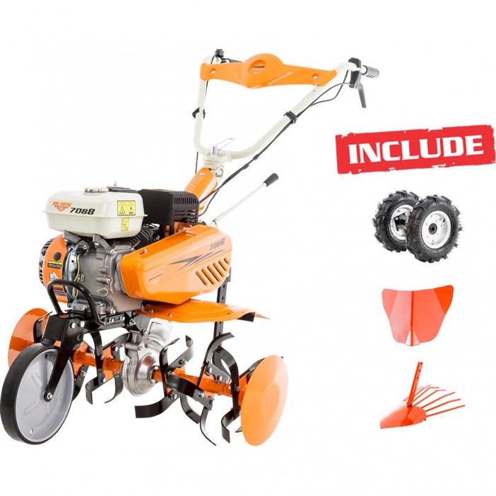Motosapa Ruris 7088 +roti cauciuc+rarita+disp cartofi foto mare