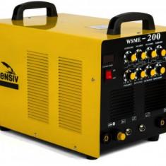 Wsme 200 AC/DC - Invertor de sudura aluminiu TIG/WIG, MMA, 200 A