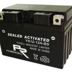 Baterie scuter motomir-fara intretinere-12v 12ah - Baterie Moto