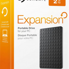 "EHDD 2TB SG 2.5"" EXPANSION USB 3.0 BK - HDD extern Seagate"