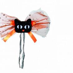 Accesoriu textil pt. par, forma pisica - Clama de par Copii