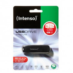 Memorie USB INTENSO 3533480 USB 3.0 32 GB Negru - Stick USB