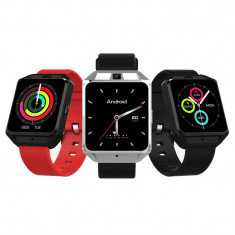 Smartwatch IWatch M5 4G inclusiv DIGI, Android 6.0, Waterproof, Ecran 1.54 inch, MTK6737M, GPS, 1GB RAM 8GB ROM, Ritm Cardiac
