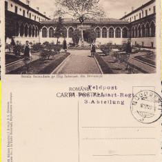 Bucuresti-Scoala secundara de fete-  militara, WWI, WK1