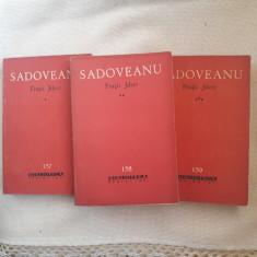 Fratii Jderi, Vol. 1, 2.3 - M. Sadoveanu, 1963 - Roman istoric