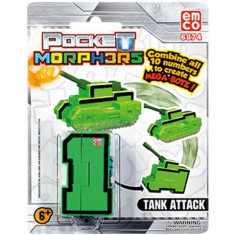 Vehicul transformabil Cifra 1 Tanc Pocket Morphers