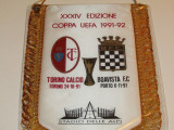 Fanion fotbal AC TORINO - BOAVISTA PORTO (Cupa UEFA 1991/1992)