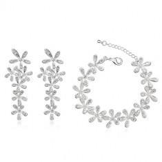 Set bijuterii Exquisite Flowers - Set Swarovski
