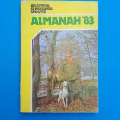 ALMANAHUL VANATORULUI SI PESCARULUI SPORTIV - 1983