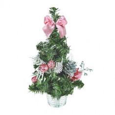 Pom Mic de Crăciun cu Ornamente - Ornamente Craciun