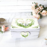 Cutie personalizata de Paste – Easter Wreath