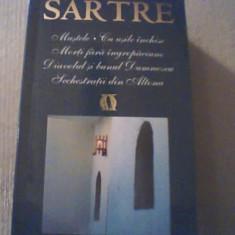 Jean-Paul Sartre - TEATRU { Rao, 2007} / Mustele * Cu usile inchise * Morti fara - Carte Teatru