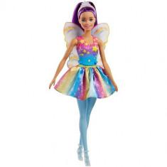 Papusa Mattel Barbie Dreamtopia Zana Mov din Regatul Rainbow Cove