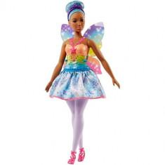 Papusa Mattel Barbie Dreamtopia Zana Mulatra din Regatul Rainbow Cove