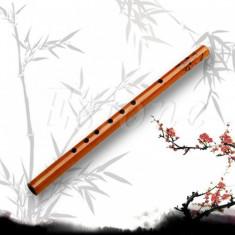 Fluier bambus 30 cm cu 6 gauri
