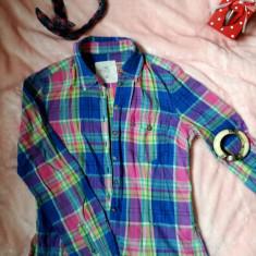 Camasa - Camasa dama H&M, Marime: S/M, Culoare: Albastru