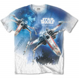 Tricou Star Wars - Rogue One X-Wing Sublimation, M, S