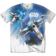 Tricou Star Wars - Rogue One X-Wing Sublimation - Tricou barbati, Marime: S, M