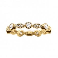 Inel Damă Thomas Sabo TR1985-414-14-54 (17, 1 mm) - Inel placate cu aur