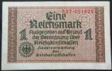 Bancnota 1 REICHSMARK - GERMANIA NAZISTA, anul 1940  *cod 228  (rara pe okazii)