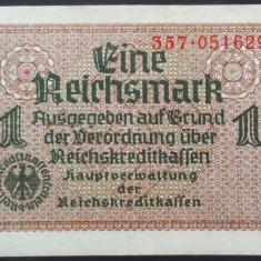 Bancnota 1 REICHSMARK - GERMANIA NAZISTA, anul 1940 *cod 228 (rara pe okazii) - bancnota europa