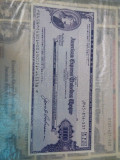 Bilet calatorie American express Travelers 10 mii Yen Japonez