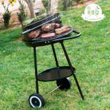 Grătar cu Cărbune cu Dublu Nivel BBQ Classics