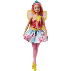 Papusa Mattel Barbie Dreamtopia Zana din Regatul Sweetville