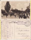 Bucuresti-Piata-  militara, WWI, WK1, Circulata, Printata