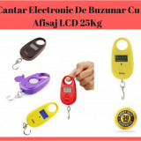 Cantar Electronic De Buzunar Cu Afisaj LCD 25Kg