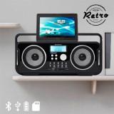 Radio Retro Reîncrcabil pe Bluetooth AudioSonic RD1556