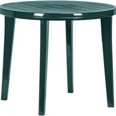 Masă pentru grădină LISA, de culoare verde închis - Masa gradina
