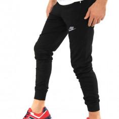 Pantaloni De Trening Nike, Negru, Pantalon Conic, Cambrat, Pantalon Casual - Pantaloni barbati, Marime: One size