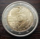 (M270) MONEDA AUSTRIA - 2 EURO 2018, 100 ANI DE LA INFIINTAREA REPUBLICII
