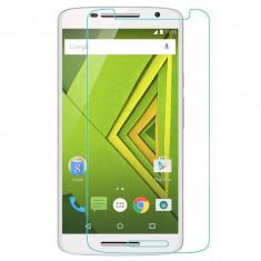 Folie protectie sticla Motorola Moto X Play, transparenta, doar 7.5 lei - Folie de protectie