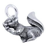 Pandantiv argint 925 in forma de veverita