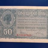 50 bani Ocupatia Germana