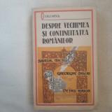Despre vechimea si continuitatea romanilor- Samuil Micu ..