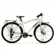 Bicicleta Pegas Hoinar 8S Alb Perlat - Bicicleta de oras
