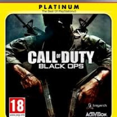 Call of Duty - Black Ops PLATINUM - PS3 [Second hand] - Jocuri PS3, Shooting, 18+, Multiplayer