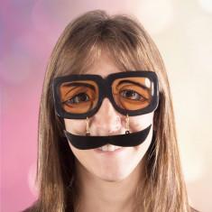 Ochelari Amuzanți cu Mustață