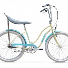 Bicicleta Strada 2 1 viteza Crem Inghetata - Bicicleta de oras