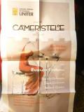 Afis- UNITER - Cameristele -de Jean Genet cu Ruxandra Sireteanu , dim.= 37x67 cm