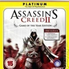 Assassin's Creed II PLATINUM - PS3 [second hand] - Jocuri PS3, Actiune, 18+, Single player