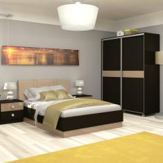Dormitor Mirano Gloss 2 - Pat dormitor