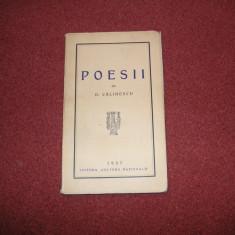 Poesii - George Calinescu (editie princeps) - 1937 - Carte veche