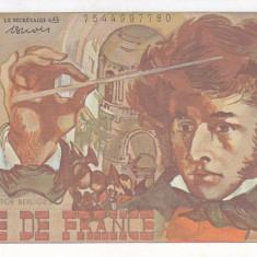 Bancnota Franta 10 Franci 1978 - P150c aUNC ( Berlioz )