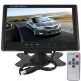 monitor auto masina lcd 7'' tft 2 intrari dvd gps camera mers inapoi fpv boscam
